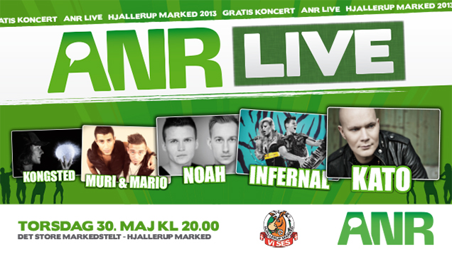 ANR Live på Hjallerup Marked